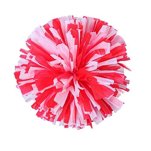 Cheerleading Hand Blumen Gymnastik Flower Ball Kinder Schule Tanz Square Dance Requisiten (Billig Outfits Cheerleading)