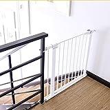 Extra-breite Baby-Tore Für Eingangstüren Treppen-Rosa-Metallhaustier-Tür-Wand-Schutz-Innensichere Tore 63-157cm Weit (größe : 75-82cm)