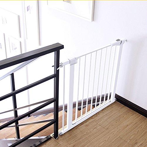 Extra-breite Baby-Tore Für Eingangstüren Treppen-Rosa-Metallhaustier-Tür-Wand-Schutz-Innensichere Tore 63-157cm Weit (größe : 82-89cm) (Tore Weit Die Hund)