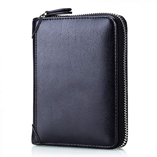 vel Passport Cover Wallet Multifunction Credit Card Package Id Holder Item Organizer Zipper Clutch Purse ()