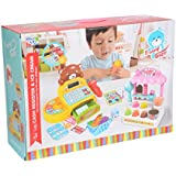 Scrafts Discovery, Learning, Sense, Imagination Battery Operated Kitchen Play Cart (3 And Above) With Lights And Music.