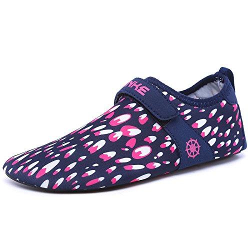 Lucdespo Liebhaber Badeschuhe, Wasserski Schuhe, Badeschuhe, Atmungsaktiv barfuß Schuhe, die Haut trocknet Schnell Schuhe. (Wasser-kühler Warenkorb)