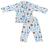 Kuchipoo Boys Night suit Kids Night Wear (KUC-NST-115--6-12 Months, Blue)