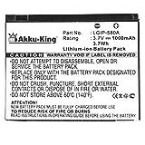 Akku King 20103898Li Ion 1000mAh 3.7V batterie rechargeable