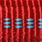 Koch Halsband mit Klickverschluss, gepolstert; rot, 20 mm, 35 - 55 cm