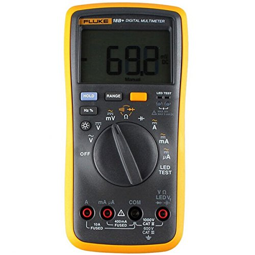 Fluke 18B F18B multímetro digital con LED