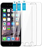 iPhone 6s Screen Protector Arcadia Premium High Quality Transparent Screen Protector, Compatible with the Apple iPhone 6s and iPhone 6 (4.7 inch) (3-Pack) Screen Protector
