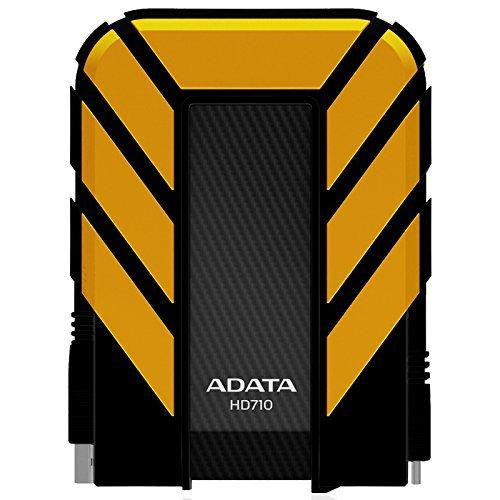 ADATA AHD710 1TU3 CYL   Disco duro externo robusto de 1TB, alta velocidad USB 3.0, resistente al agua, al polvo y a impactos de grado militar IP68, color negro