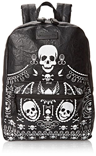 loungefly-sac-dos-skulls-spades-noir