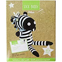 Make Your Own Zebra Sock Buddy