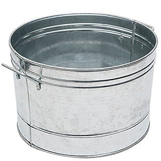 Achla Designs C-50 Round Galvanized Steel Tub