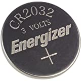 2 X Energizer CR2032 3V Lithium Coin Batteries