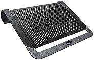 CoolerMaster Notepal U2 Plus V2 Laptop Air Cooler, Dual 80mm Moveable Fans, Lightweight Aluminum Cooling Pad,