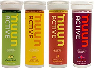 New Nuun Active Hydrating Electrolyte Tablets, Citrus Berry Mix, 4 Count by New Nuun Active by Nuun