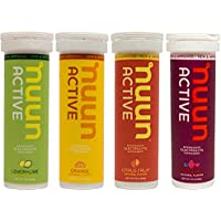 New Nuun Active: Hydrating Electrolyte Tablets, Citrus Berry Mix, Box of 4 Tubes by New Nuun Active