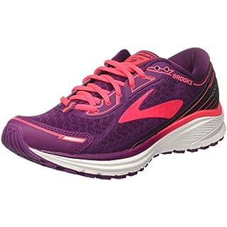 Brooks Women's Aduro 5 Running Shoes, (Purple/Pink/Black 1B544), 4.5