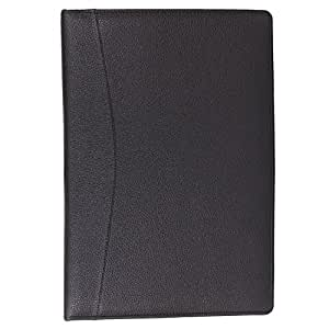 AmazingHind Leatherette Material Professional 2 Ring File Folders to Keep Your Important Certificates (20 Leaf, Size: FS)