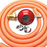 HG Propane Regulator 2m Hose Kit Fits Calor Gas & Flogas screw in cylinders
