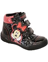 Filles Minnie Mouse Bottes Enfants Disney Verni Cheville Cartoon Chaussures