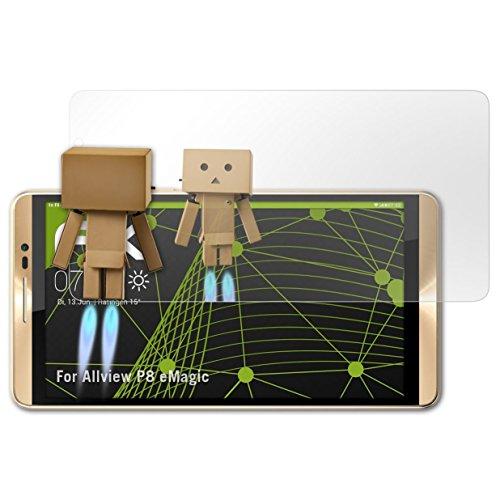 atFolix Bildschirmfolie für Allview P8 eMagic Spiegelfolie, Spiegeleffekt FX Schutzfolie