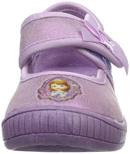 Sofia die Erste Girls Kids Ballerina Houseshoes, Chaussons avec doublure froide fille Violet - Violett (LILAC/LILAC 093)