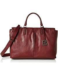 BREE Damen Couco 2, Br. Red Print, Work Shopper W16, 40x28x18 cm