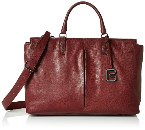 BREECouco 2, br. red print, work shopper W16 - Borsa shopper Donna Rot (brick red 160)