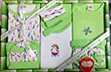 Mini Berry Baby Station Gift Set-13 Pcs New Born (Green)