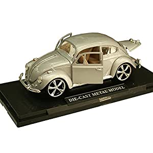 1:24 Scale Metal Die Cast Licensed VW Beetle Sports Car Toy For Collectors