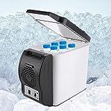 Mini Refrigerador Compacto Refrigerador/Calentador Portátil Nevera Pequeña y Silenciosa Nevera de Sobremesa Ideal Para Habitaciones de Hotel Pequeños Oficina Hotel