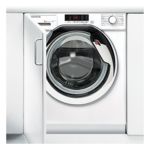 HBWM914SC Integrated Washing Machine with 1400RPM Spin Speed and 9KG Capacity Load in White