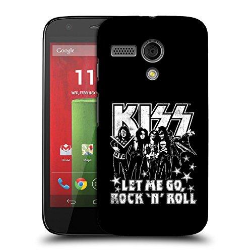 Offizielle Kiss Let Me Go, Rock And Roll Album Ruckseite Hülle für Motorola Moto G (1st Gen) (Kiss 1. Album)