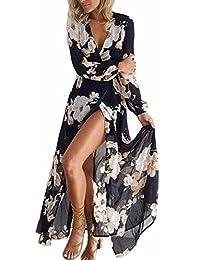 Amazon.it  Di Abiti Lunghi - A bustier   Vestiti   Donna  Abbigliamento a73c3448ab9