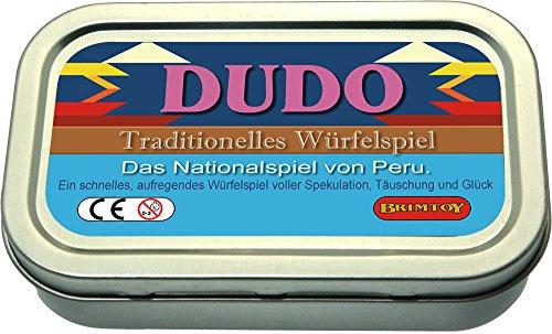 Peruanisches Würfelspiel Reisespiel. Das originale Liar's Dice Spiel aus Peru