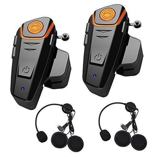 Sistema de Auriculares Bluetooth de 1000 m de Motocicleta generación de Cascos...