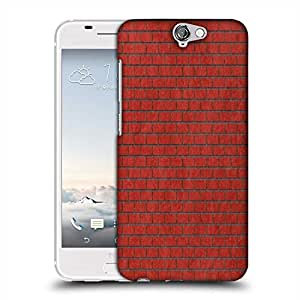 Snoogg Red Bricks Designer Protective Phone Back Case Cover For Asus Zenfone 6
