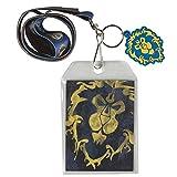 Lanyard–World of Warcraft–Allianz PVC Logo Symbol w/Tasche j6666
