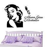 1 Stück Marilyn Monroe Wandaufkleber für Raumdekorationen PVC-Aufkleber Küche Wandbild Kunst Geschenk Home & Kinder sexy Wandaufkleber