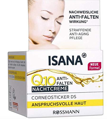 ISANA Q10 Anti-Falten Nachtcreme, 50 ml