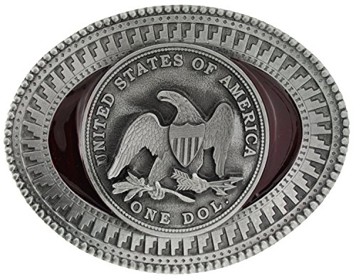 One Dol Coin Belt Buckle comes in one of my Presentation Boxes.