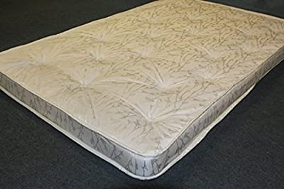 Replacement spring sofabed bed settee mattress. Metal action sprung sofa matress.Small double