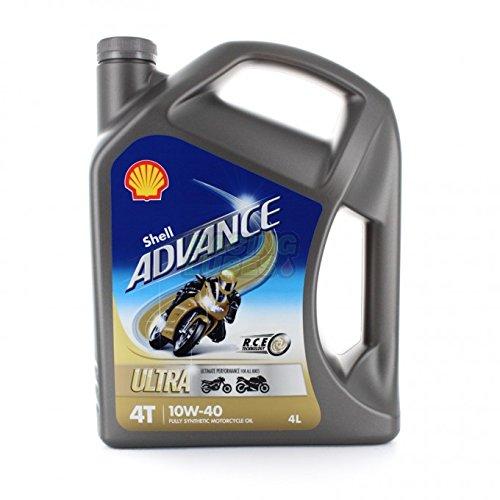 Shell ADVANCE ULTRA 4T 10W40 FULL SYNTHETIC 4L (Öl Schmiermittel Basierende)