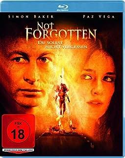 Not forgotten - Du sollst nicht vergessen [Blu-ray]