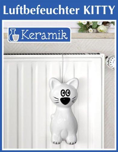 Wenko Luftbefeuchter Kitty Keramik Verdunster 24 X 10 5 X 6 5 Cm