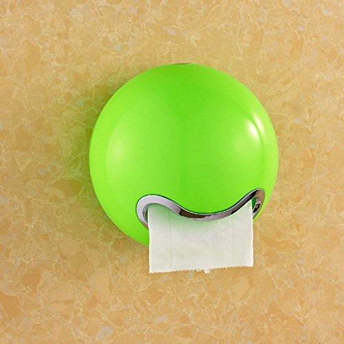 JU Toilettenpapierständer Toilettenpapierhandtuchkasten Toilettenpapierbehälter/Toilettenpapierbehälter / Toilettenpapierhalter/Toilettenpapier Papierrollenpapier,Grün