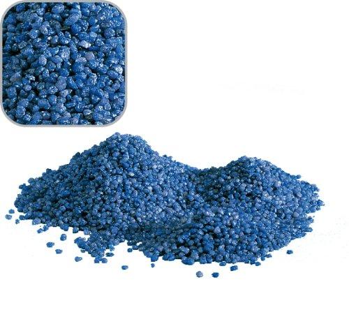 AQUARISTIKWELT24 5 Kg blauen Quarzkies Premium Qualität 2-3 mm Bodengrund Aquariumsand