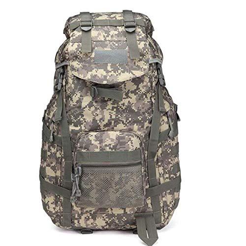 Lounayy Outdoor Rucksack Sport Wasserdicht Stylisch Tactical Camping Wandern Mode Bergsteigen Trekking Tasche (Color : Camouflage, Size : One Size)