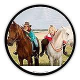 Tortenaufleger Bibi und Tina Pferde