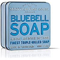 Scottish Fine Soaps Bluebell Soap 100g in Tin