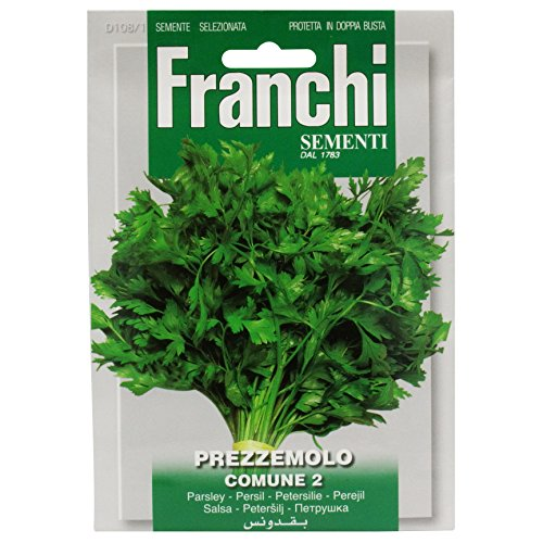 Seeds of Italy Franchi Graines de persil plat
